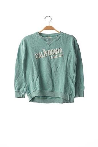 Sweat-shirt vert ZARA pour fille