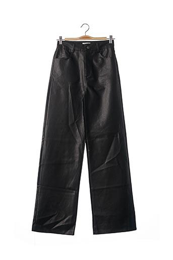Pantalon 7/8 noir LOAVIES pour femme