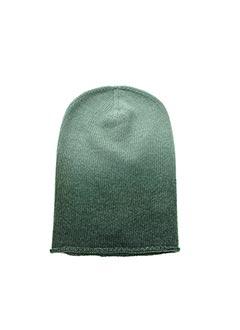 Bonnet vert LA FEE MARABOUTEE pour femme