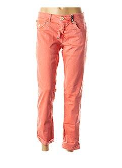 Pantalon 7/8 orange HIGH pour femme
