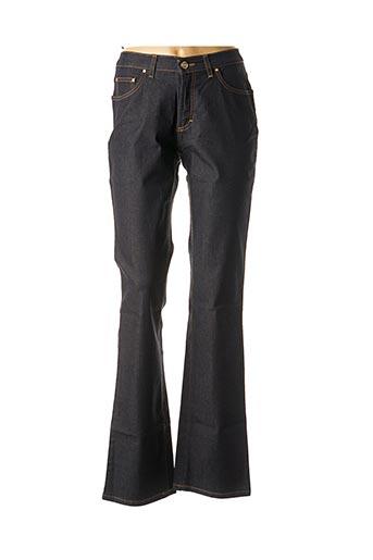 Jeans bootcut bleu TRUSSARDI JEANS pour femme
