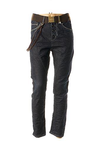 Jeans coupe slim bleu HIGH pour femme