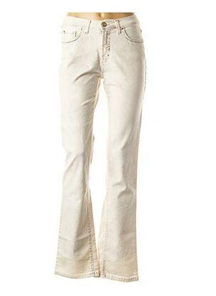 Jeans coupe droite gris TRUSSARDI JEANS pour femme