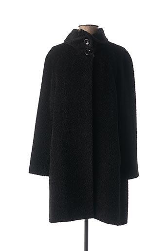 Manteau long noir CINZIA ROCCA pour femme