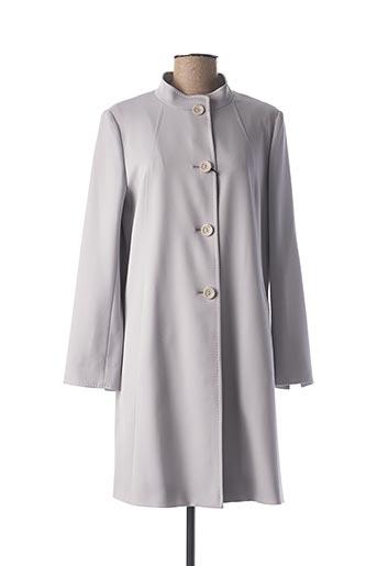 Manteau long gris CINZIA ROCCA pour femme