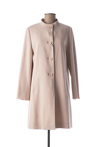 Manteau long rose CINZIA ROCCA pour femme