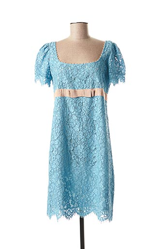 Robe mi-longue bleu TWINSET pour femme