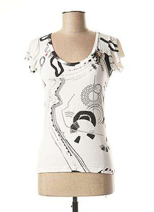 T-shirt manches courtes blanc CHRISTIAN LACROIX pour femme