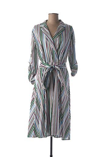 Robe mi-longue vert MARELLA pour femme