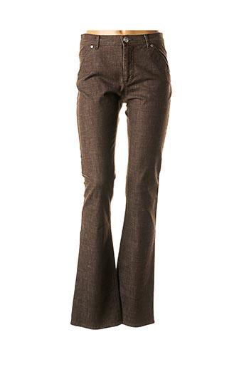 Jeans bootcut marron MAXMARA pour femme