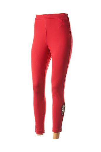Legging rouge TWINSET pour femme