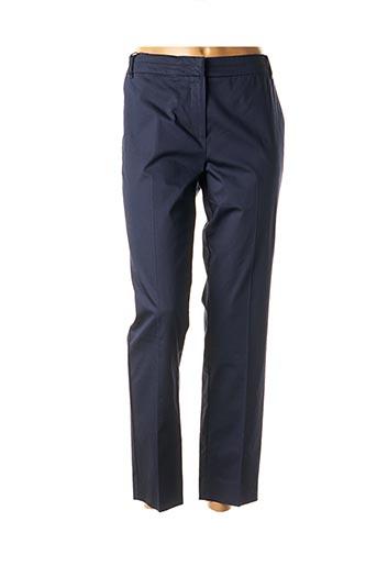 Pantalon 7/8 bleu MARELLA pour femme