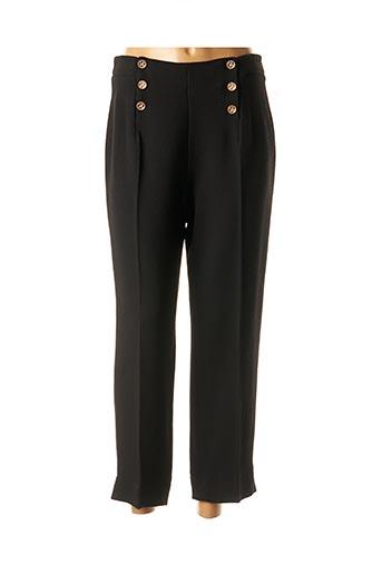 Pantalon 7/8 noir EDWARD ACHOUR pour femme