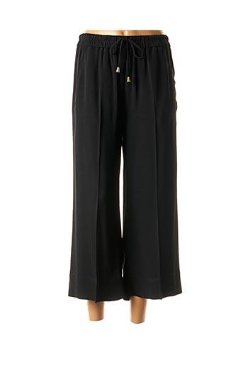 Pantalon 7/8 noir TWINSET pour femme