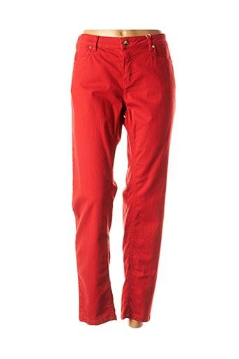 Pantalon casual rouge I BLUES pour femme