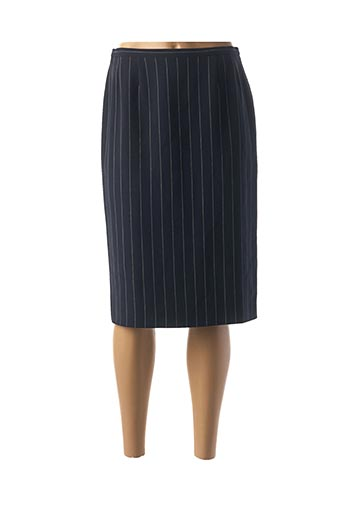 Jupe mi-longue bleu MAXMARA pour femme