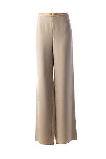 Pantalon chic gris ARMANI pour femme