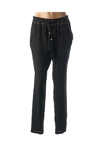 Pantalon casual noir CAVALLI pour femme