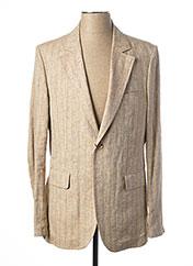 Veste chic / Blazer beige CHRISTIAN LACROIX pour homme seconde vue