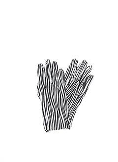 Gants noir GIANFRANCO FERRE pour femme