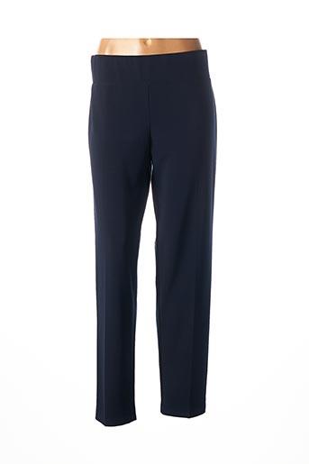 Pantalon 7/8 bleu FRANK LYMAN pour femme