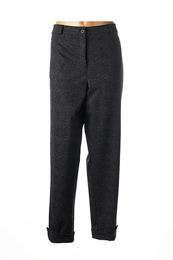 Pantalon 7/8 gris FRANCK ANNA pour femme