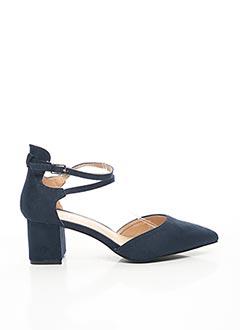 Sandales/Nu pieds bleu LA BOTTINE SOURIANTE pour femme