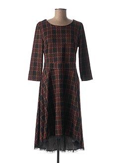 Robe mi-longue noir SWEET MISS pour femme