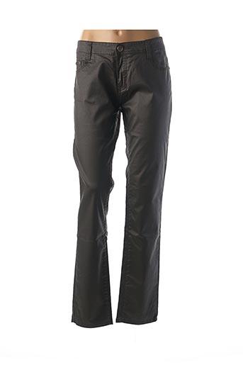 Pantalon casual noir B.S JEANS pour femme