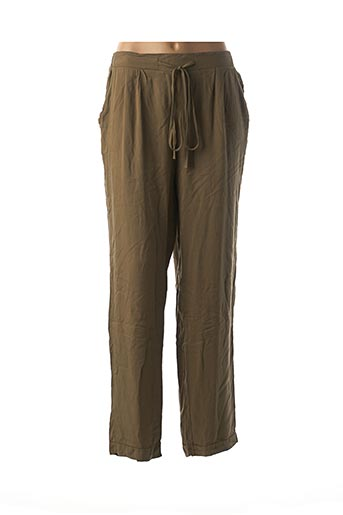 Pantalon casual vert CHRISTY pour femme