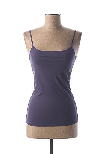 Top violet HYBRIS pour femme