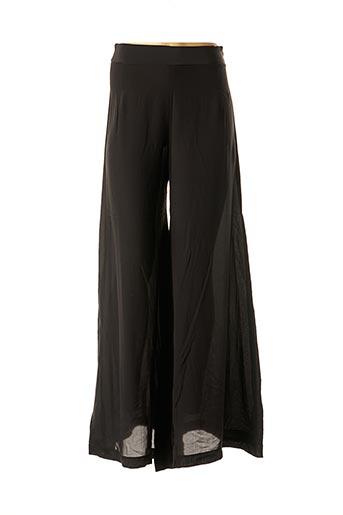 Pantalon chic noir TRICOT CHIC pour femme