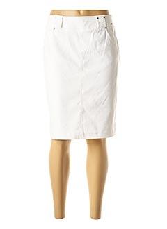Jupe mi-longue blanc AIRFIELD pour femme