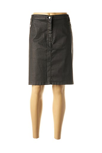 Jupe mi-longue noir ANANKE pour femme