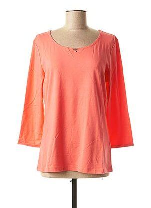 T-shirt manches longues rose AIRFIELD pour femme