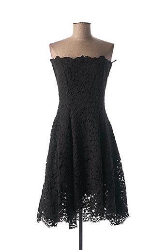 Robe courte noir ETXART&PANNO pour femme