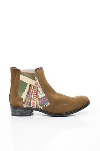 Bottines/Boots marron CATHERINE PARRA pour femme