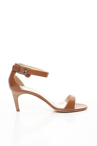 Sandales/Nu pieds marron FRANCOIS NAJAR pour femme