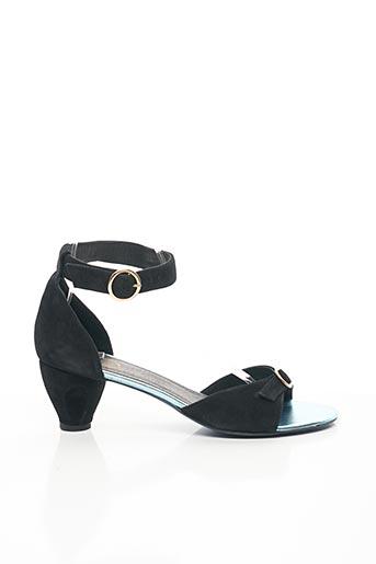Sandales/Nu pieds noir CATHERINE PARRA pour femme