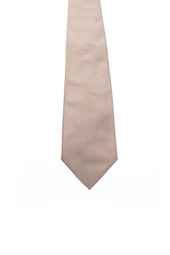 Cravate beige STRELLSON pour homme