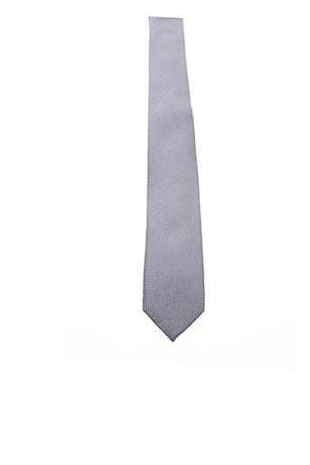 Cravate gris BILLTORNADE pour homme