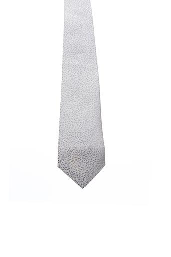Cravate gris KENZO pour homme
