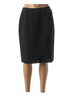 Jupe mi-longue noir PARISIENNES pour femme