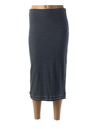 Jupe mi-longue bleu MYRINE & ME pour femme