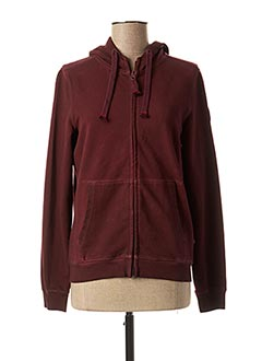 Veste casual rouge FRENCH TERRY pour femme