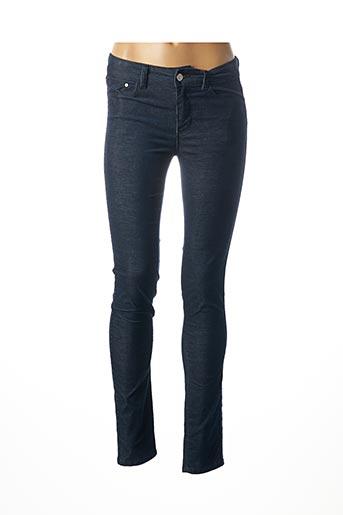 Pantalon casual bleu C'EST BEAU LA VIE pour femme