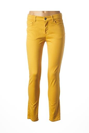 Pantalon casual jaune MEXX pour femme