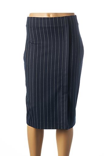 Jupe mi-longue bleu MEXX pour femme