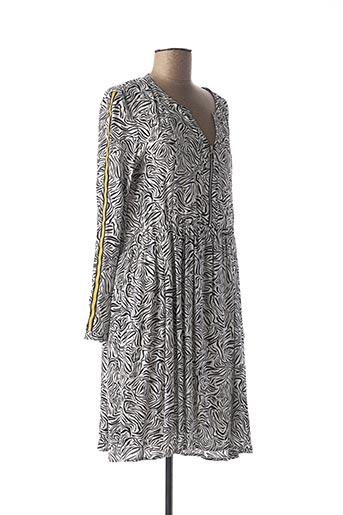 Robe mi-longue blanc JULIE GUERLANDE pour femme