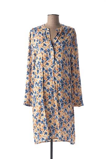 Robe mi-longue orange MEXX pour femme